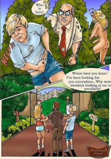 Animated Inzest- In the zoo Porn Comix