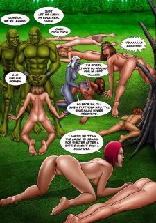 Baldur's Gape- Ogres assfuck their enemies dry best Porn Comix