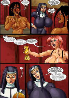 Banana Cream Cake 22- Mother Superior's Coven Porn Comix