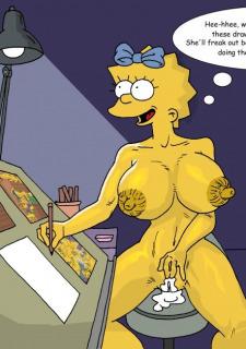 Bart Simpson- Tree House Fun Porn Comix