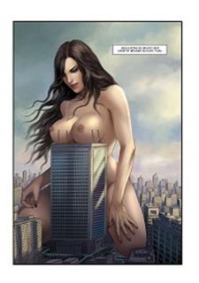 The Biggest Strip 3- GiantessFan Porn Comix