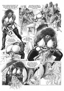 Black power-Huge Black Cock Porn Comix