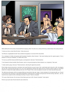 Boss To Bimbo II-A Deal Maker Lustomic Porn Comix