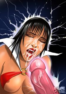 Crossover Heroes- Vampirella Gets Hard Anal Sex Porn Comix