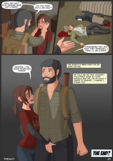 Ellie Unchained-Last of US Dark Whore Porn Comix