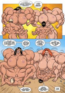 Female Muscle Frenzy 5- Kinky Rocket Porn Comix