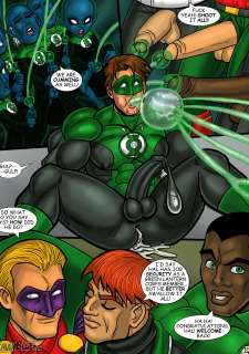 Green Lantern- Iceman Blue Porn Comix