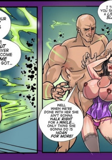 Gush Bomb-Kristy's Toy Porn Comix