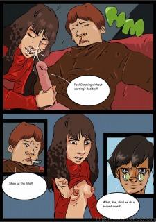 Harry Potter – Drawn Sex Porn Comix