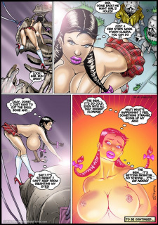 Jewel Of The Damned 13-14 Porn Comix