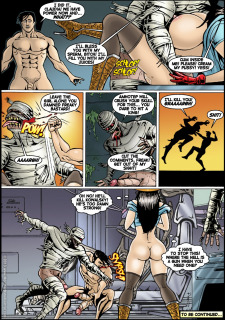 Jewel of the Damned 23-24 Porn Comix