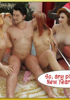 A Christmas Miracle- Santa's Gifts Porn Comix