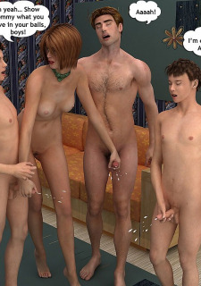Mind-blowing foursome-Family Sex Porn Comix