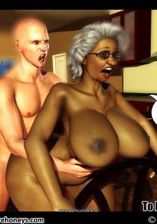 Ms Jiggles 3D – Part 5- Duke Honey Porn Comix