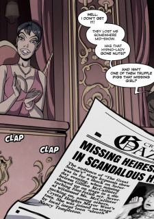 Mystery of the Vanished Heiress Porn Comix