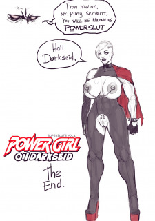 Power Girl – Power Slut Porn Comix