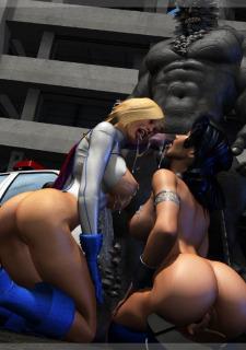 Power Girl-Wonder Woman Doomsday – Mongo Bongo Porn Comix