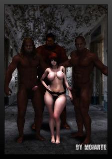 Prison Ladies VII- Moiarte Porn Comix