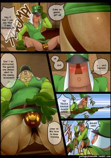 Royal Guard Special Training (The Legend of Zelda) Porn Comix