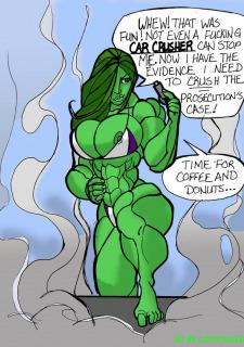 She Hulk- Critical Evidence Porn Comix