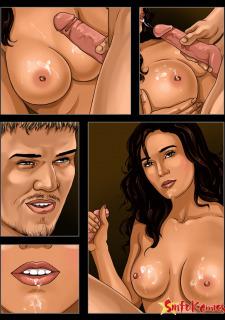 Sinful Celebs- Blood diamond Porn Comix