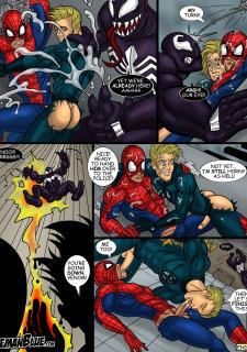 Spider-Man- Iceman Blue Porn Comix
