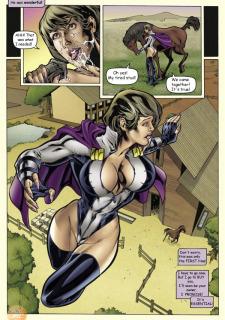 Superheroine Central- Susan Steel Porn Comix