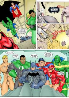 Superman JLA- Iceman Blue Porn Comix