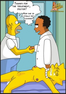 The Simpsons – Visiting Doctor Porn Comix