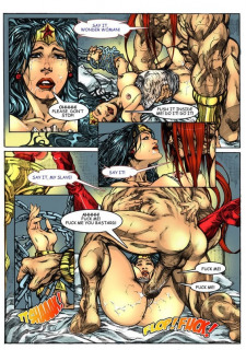 Wonder Woman vs Warlord (Superman) Porn Comix