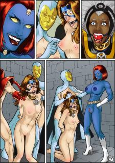 X-Women Enslaved (X-Men) Porn Comix